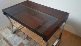 Wood and Glass Desk in Ramstein, Germany