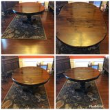 Antique dining room table in Perry, Georgia