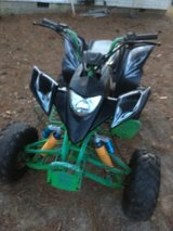 200cc racing quad 2014 runs excellent trading for car or truck or $1600 in Perry, Georgia