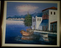 Painting of Mediterranean.by Local Painter REDUCED PRICE in Houston, Texas