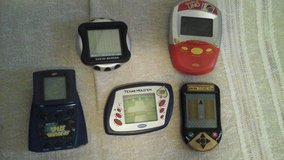 (5) Hand Held Electronic Games in Naperville, Illinois