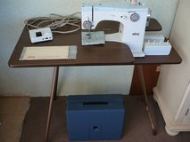 Sewing machine, table, chest with all you need for sewing in 29 Palms, California
