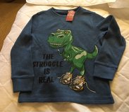 NWT 4T Dino Shirt in Chicago, Illinois