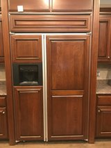 """GE Mongram 42"""" Side by Side Refrigerator in St. Charles, Illinois"""