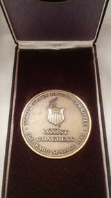 1987 US Olympic Committee Medal/Token in 29 Palms, California