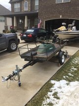 4x7 solid homemade trailer in Fort Campbell, Kentucky