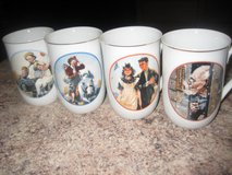 Norman Rockwell (2 Sets of 4) Mugs in Algonquin, Illinois