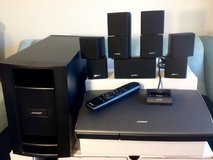 Bose Lifestyle V25 5.1 Channel Home Theater System w iPhone/iPod deck - $825 (Seattle Tacoma area) in Fort Lewis, Washington
