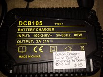 Replacement battery charger for Dewalt DCB105 in Fort Campbell, Kentucky