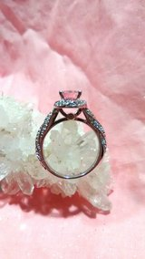 2.35 ct Pink Sapphire Ring 925 silver Size 7 in 29 Palms, California