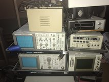 Video Test Equipment for Sale.  Large Lot $500.  Scopes, Signal Gen, Isolation Etc. in St. Charles, Illinois