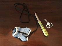 3 Small Pet Accessories (Vest with Leash + Nail Trimming Supplies) in Naperville, Illinois