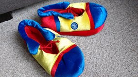 Ringling Circus clown-shoe slippers-adult in Bolingbrook, Illinois