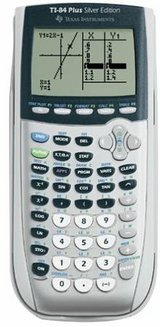 Texas Instruments TI-84 Plus Silver Edition Graphing Calculator in St. Charles, Illinois