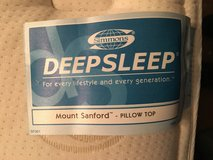 Simmons Queen Pillow Top Mattress in St. Charles, Illinois
