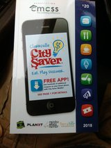2018 Clarksville City Saver coupon book in Fort Campbell, Kentucky