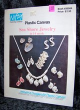 Plastic Canvas JEWELRY PATTERN BOOKLET ~ Sea Shore, Vintage 1990 in Alamogordo, New Mexico