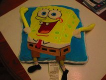 Spong Bob SquarePants Plush 3D Pillow 14 x 15 in Clarksville, Tennessee