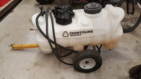 CountyLine 30-Gallon Sprayer with 2.1 GPM Pump, Trailer, Sprayer hose & nozzle in Fort Campbell, Kentucky