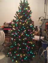 7.5 ft. Pre-lite Christmas Tree in Clarksville, Tennessee