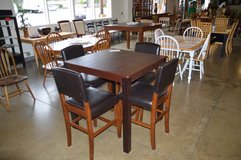 Tall Table & 4 Chairs in Tacoma, Washington