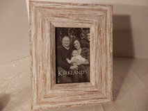 """Brand New 3x5"""" Whitewashed Picture Frame. in Naperville, Illinois"""