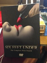 Six Feet Under The Complete First Season DVD Set in Bolingbrook, Illinois