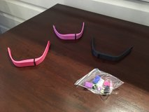 NEW 3 Fitbit Replacement Bands for Fitbit Flex Activity and Sleep Tracker in St. Charles, Illinois