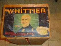 antique whittier orange crate in St. Charles, Illinois