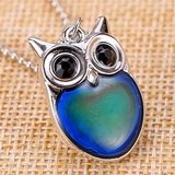 SMALL OWL MOOD NECKLACE (New) in Fort Campbell, Kentucky