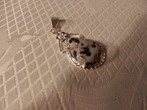 "Black and Grey Pendant  2"" in Oswego, Illinois"