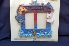 Noah's Ark Switch Plate - NEW in Package in Alamogordo, New Mexico