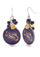 ***BRAND NEW Eye Of The Tiger LSU Earrings*** in The Woodlands, Texas