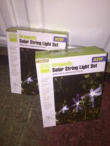 NIB Solar String LED lights (2 boxes) in Yucca Valley, California
