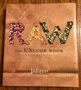 RAW The Uncook Book by Juliano with Erika Lenkert in Joliet, Illinois