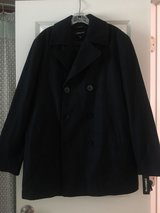 Men's Claiborne Wool Pea Coat NWT in Beaufort, South Carolina