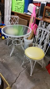 Patio table + 2 chairs in Aurora, Illinois