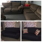 Couch and loveseat in Fort Drum, New York