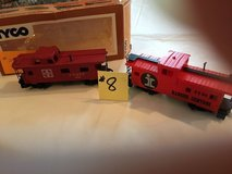 Vintage HO-Scale Train Cabooses' Lot #8 in Naperville, Illinois