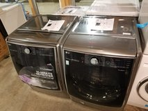 Brand new LG washer and dryer set graphite steel 01 year warranty/ delivery in Fairfax, Virginia