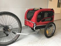 Pet Bicycle Trailer (Solvit ) new/only used twice in Tacoma, Washington