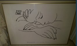 Picasso – Sleeping Woman (black & white) REDUCE PRICE in Kingwood, Texas