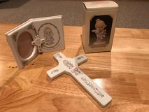 Precious Moments Cross, Picture Frame and Figurine in Lockport, Illinois