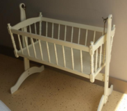 Baby cradle in Fort Drum, New York