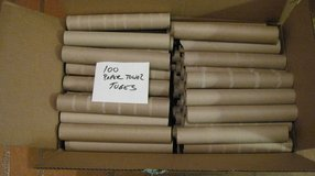 100 Paper Towel Cardboard Tubes - Rolls - Arts Crafts School Church Scouts Projects in Schaumburg, Illinois