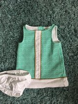 Janie and jack 3-6 month shift dress and bloomer in Plainfield, Illinois