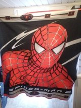 Spider-Man bed throw in Byron, Georgia