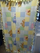 Winnie the Pooh crib blanket in Warner Robins, Georgia