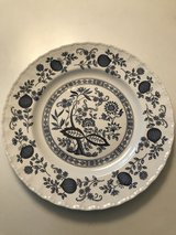 BLUE AND WHITE Flower Plate in Joliet, Illinois