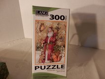 "300 pc.  Puzzle  ""Woodland Santa"" in Naperville, Illinois"